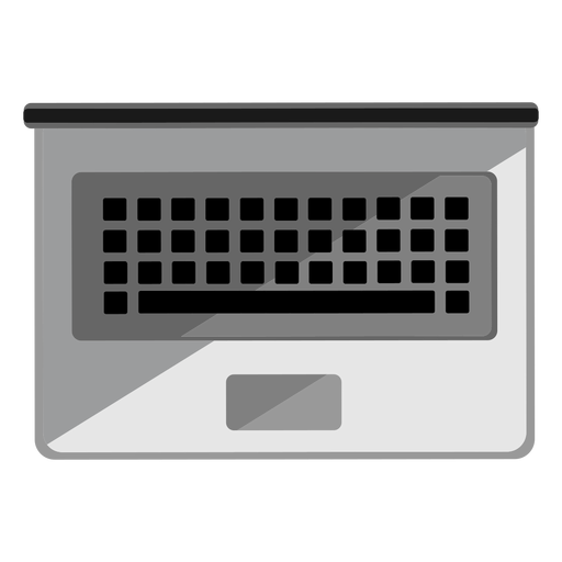 Laptop Top View Icon