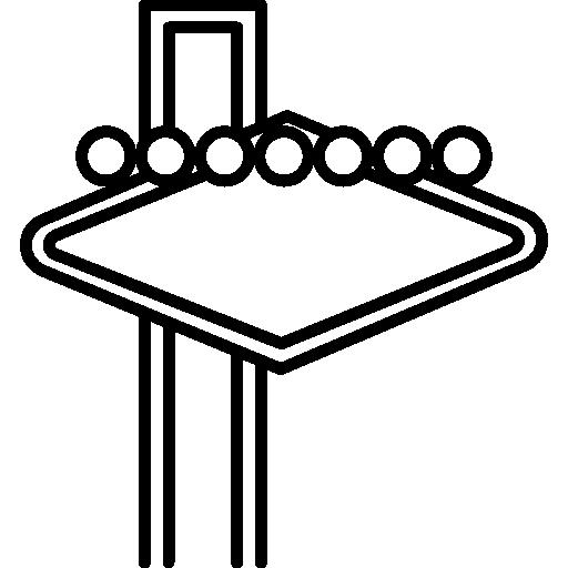 Las Vegas Sign Icons Free Download