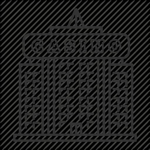 Building, Casino, Gambling, Game, House, Las Vegas Icon
