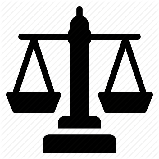 Court, Gavel, Justice, Law, Lawfirm, Legal, Police Icon