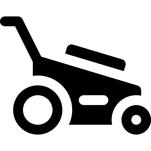 Lawn Mower, Machine, Tools And Utensils, Gardening, Yard Icon