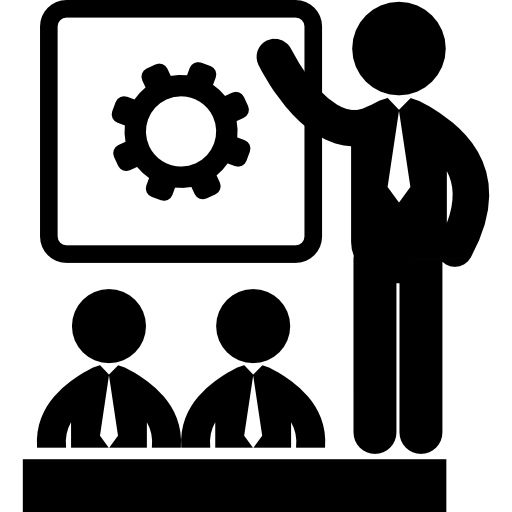 Business People Meeting Icons Free Download