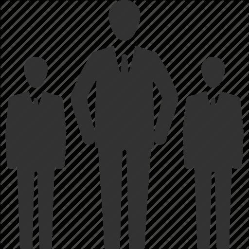 Business, Leader, Leadership, Team Icon