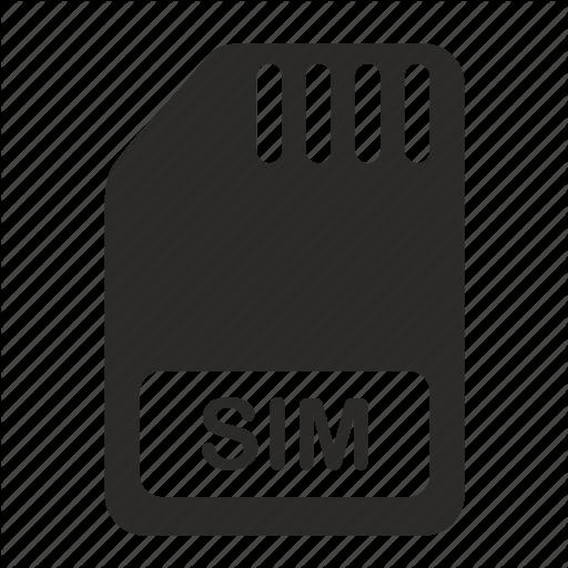 Sim Card Icons