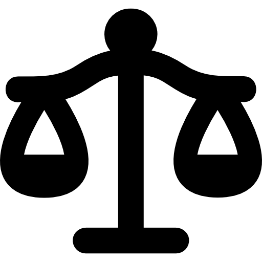 Libra Justice Balanced Scale Symbol Icons Free Download