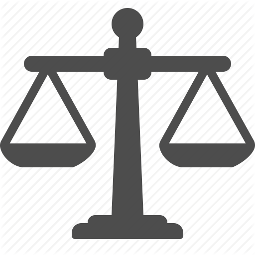 Pictures Of Scales Of Justice Icon