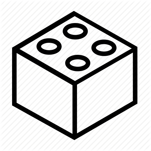 Lego Block Icon