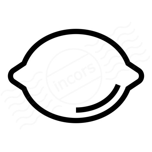 Iconexperience I Collection Lemon Icon