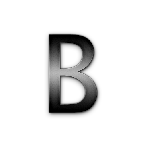 Letter B Icons