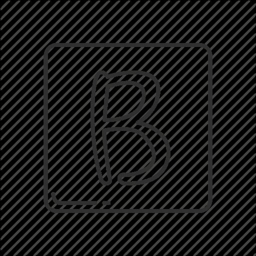 B Sign, Capital Letter B, Emoji, Emojis, Letter B, Letter B Symbol