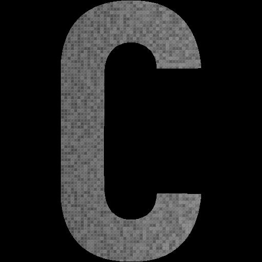 Custom Color Letter C Icon