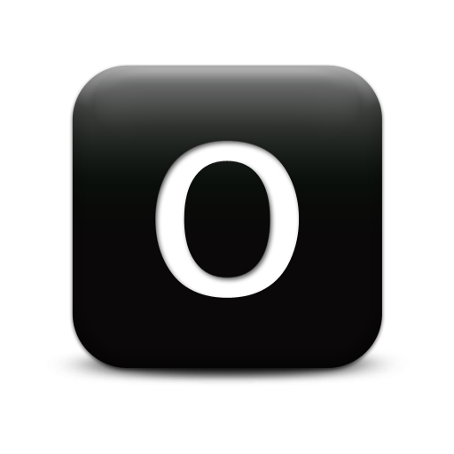 Letter O Icons