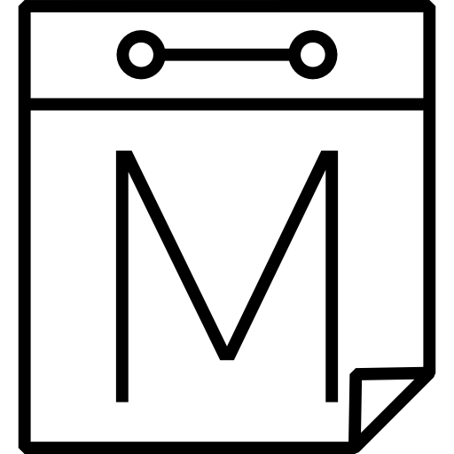 Letter M Icons Free Download