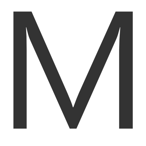 Capital Letter M Icon Download Free Icons
