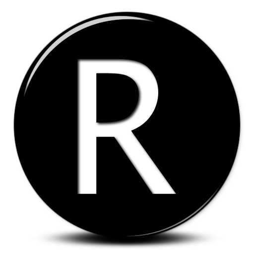 Capital Letter R Icon