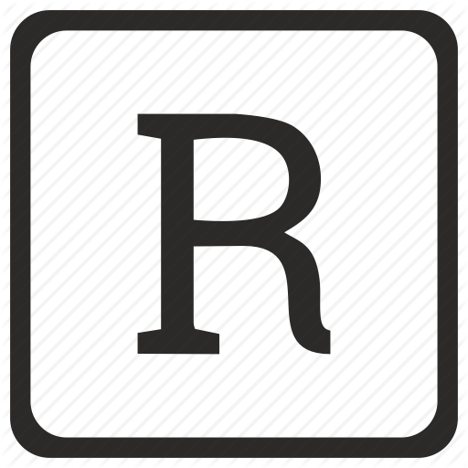 Alphabet, Letter, R, Uppercase Icon