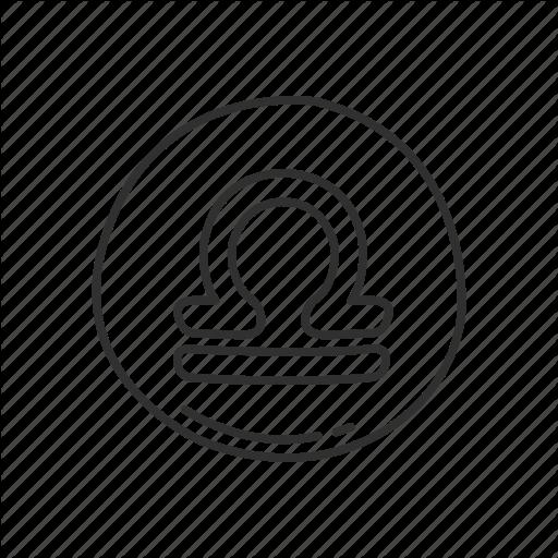 Emoji, Libra, Libra Symbol, Sign, Squared Libra, Zodiac, Zodiac
