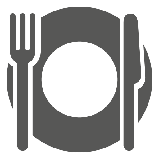 Empty Dinner Plate Icon