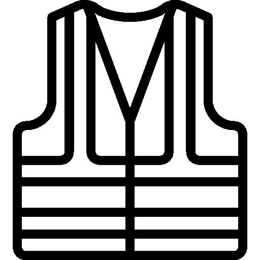 Vest Icon Construction Elements Smashicons