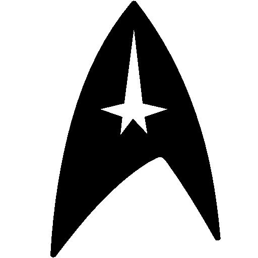 Cinema Star Trek Symbol Icon Windows Iconset