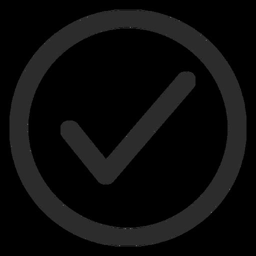 Tick Check Mark Stroke Icon