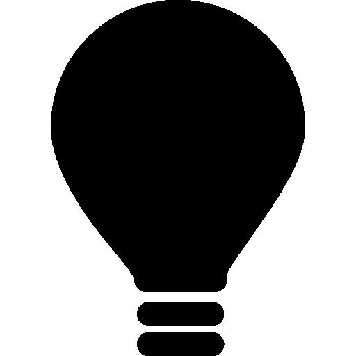 Light Bulb, Idea, Ios Interface Symbol Icons Free Download
