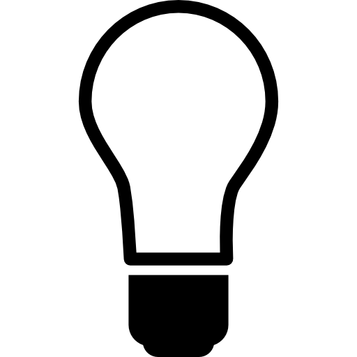 Light Bulb Off Icons Free Download