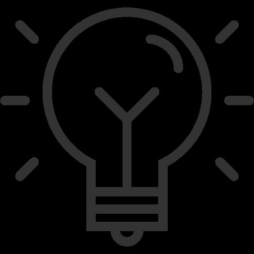 Idea, Light, Bulb Icon Free Of Themeisle Icons