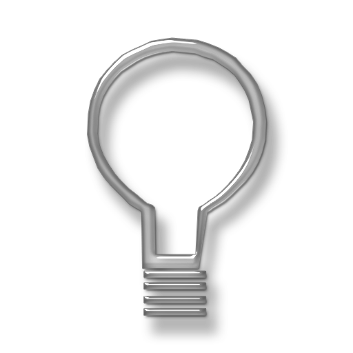 Light Bulb Icon Transparent