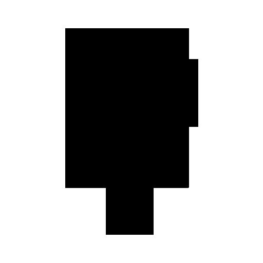Transparent Light Bulb Icon