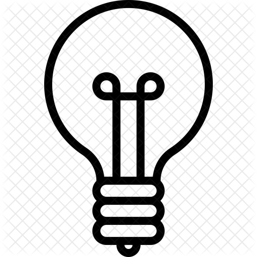 Light Bulb Icon Transparent Png Clipart Free Download