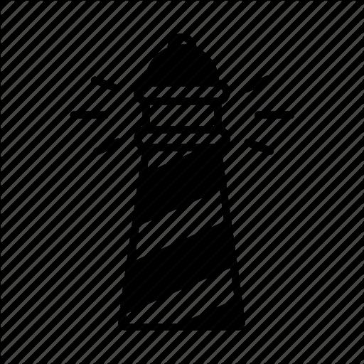 Beach, Beacon, Guide, Lighthouse, Navigation, Sea, Warning Icon
