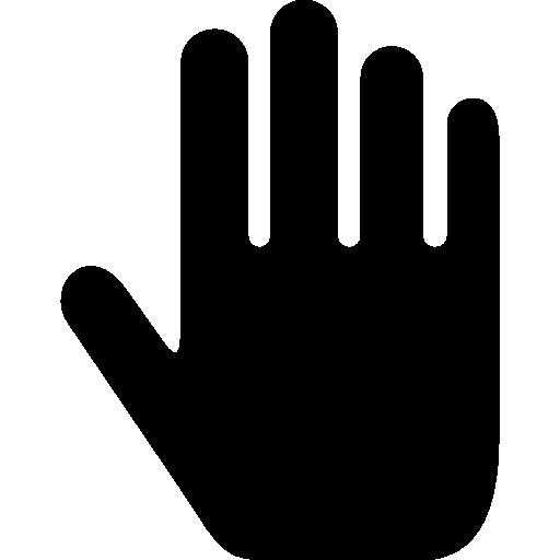 Palm Of The Hand Icon Art Studio Freepik