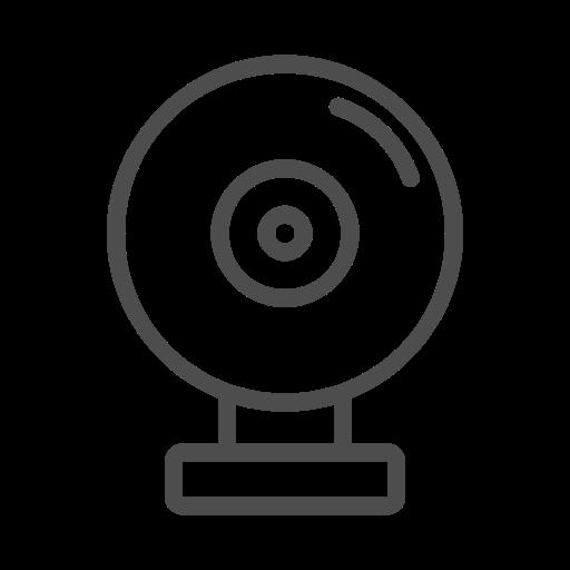 Cam, Web, Web Cam Line Icon, Web Cam, Web Cam Icon Icon