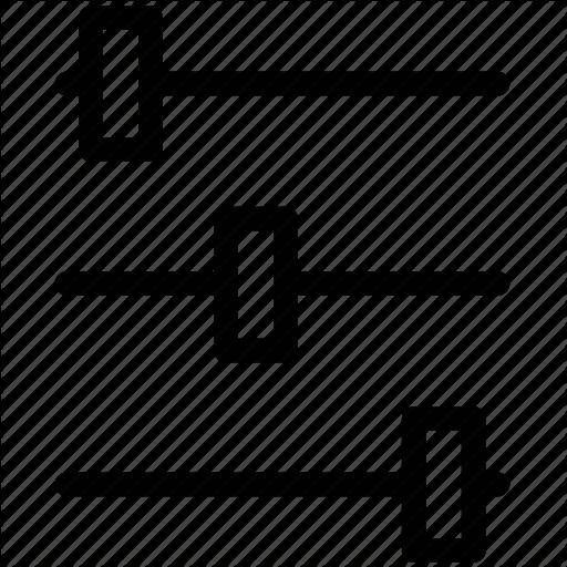 Edit, Line Icon, Pixel Icon, Set, Settings Icon