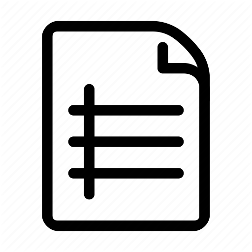 Book, Cover, Document, File, Lines Icon