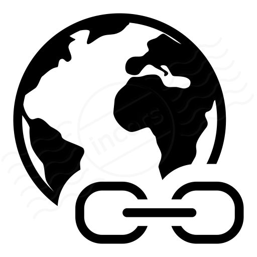 Iconexperience I Collection Earth Link Icon