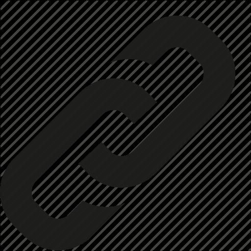 Black Link Icon