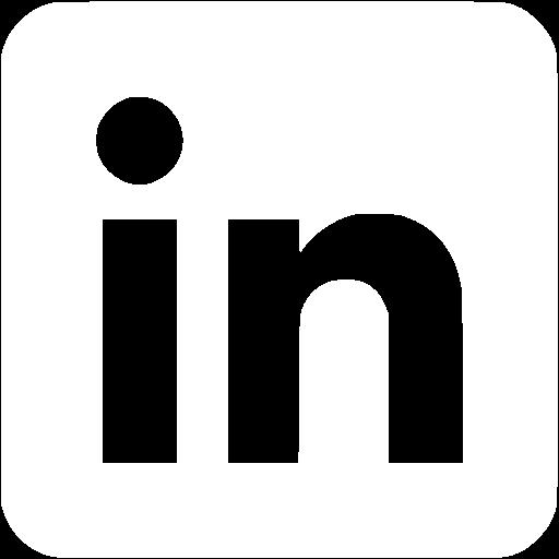 Linkedin All White Logo Png Images