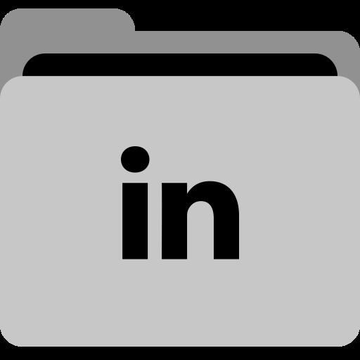 Storage, Linkedin, Social, Folder, App, Portfolio, Collection Icon