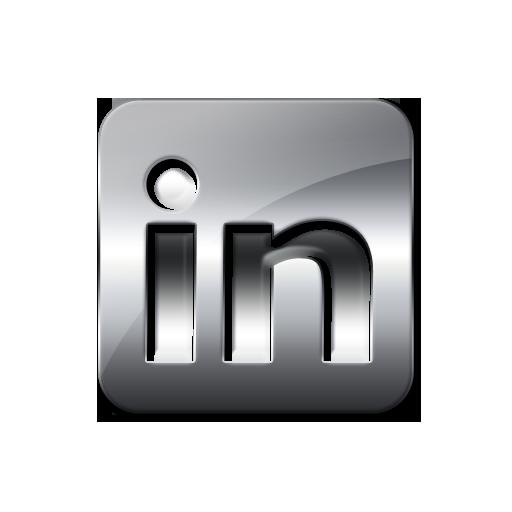Linkedin Icon Black