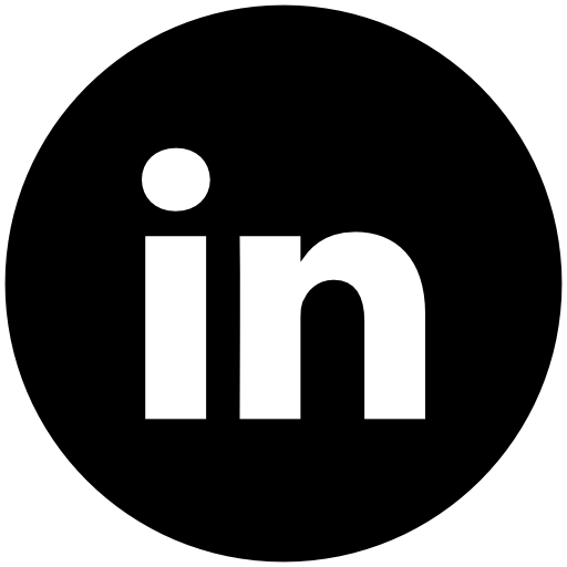 Linkedn Free Of Address Book Providers In Black White Icons