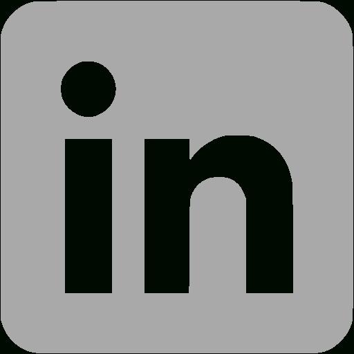 Temporary Dark Gray Linkedin Icon Free Dark Gray Site Logo