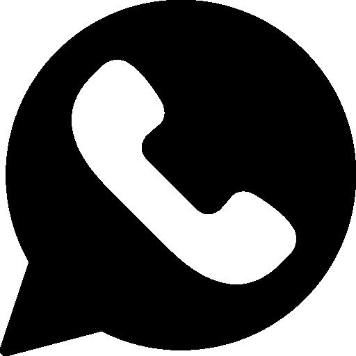 Facebook Icon White Round Vector