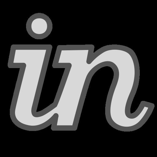 Letter, Share, Social, Media, Linkedin, Brand Icon