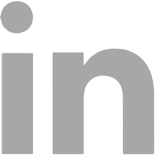 Linkedin, Social Network Symbol Kostenlos Von Social Grey Icons