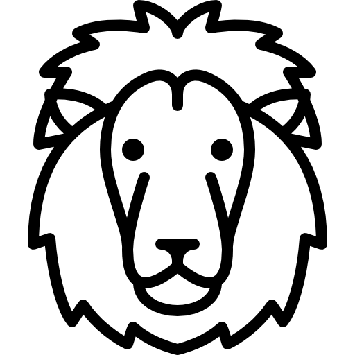 Lion Head Icons Free Download