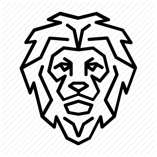 Animal, Face, Head, Jungle, King, Lion, Wild Icon