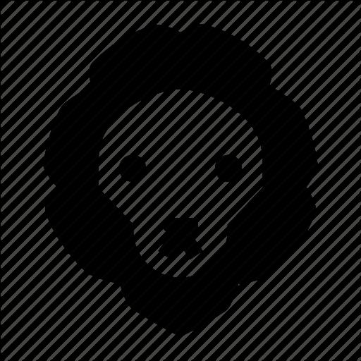 Animal, Lion, Lion Face, Wild, Zoo Icon