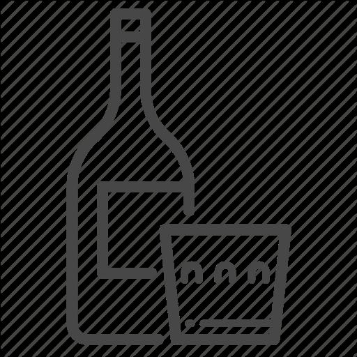 Addicted, Addictive, Alcohol, Alcoholic, Liquor Icon